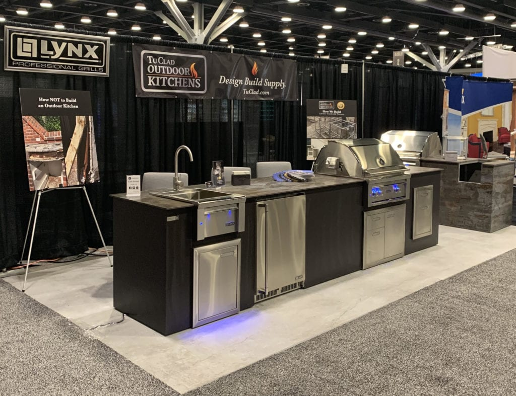 TuClad Outdoor Kitchens at BUILDEX Vancouver 2020
